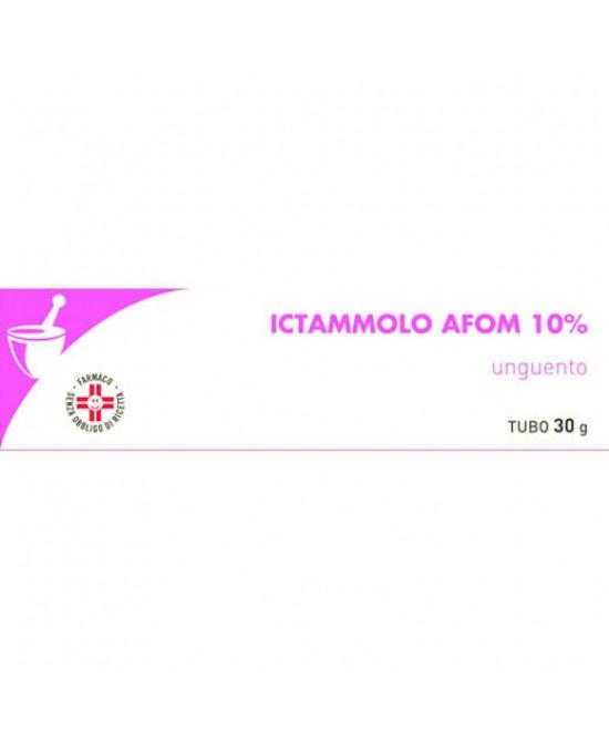 Ictammolo AFOM 10% Ittiolo Unguento 30g - FARMAEMPORIO