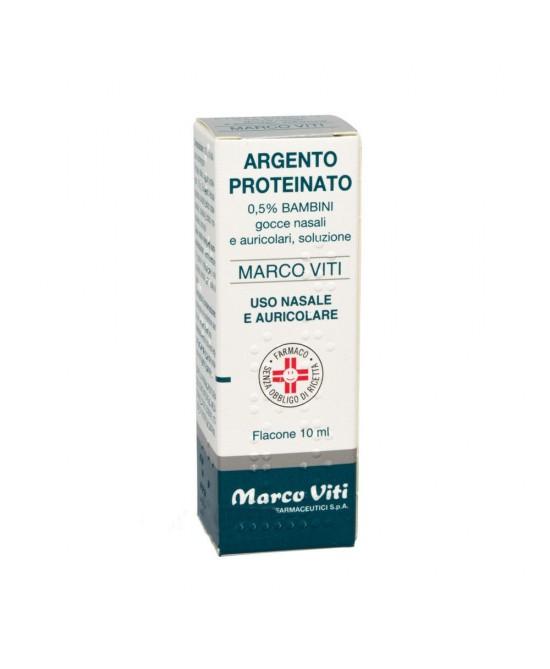 Argento Proteinato Marco Viti Gocce 0,5% 10ml - FARMAEMPORIO