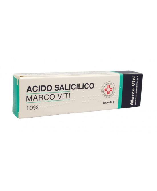 Acido Salicilico Marco Viti 10% Unguento 30 g - La tua farmacia online