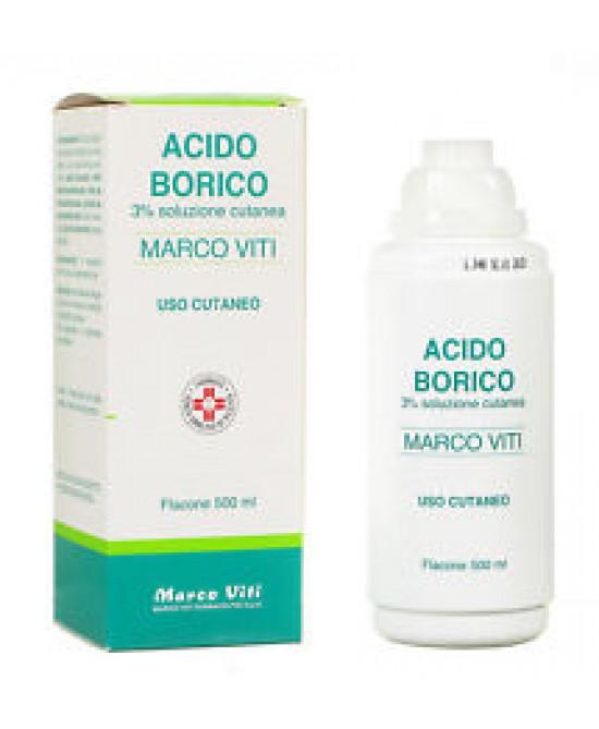 Acido Borico Marco Viti 3% 200ml - FARMAEMPORIO