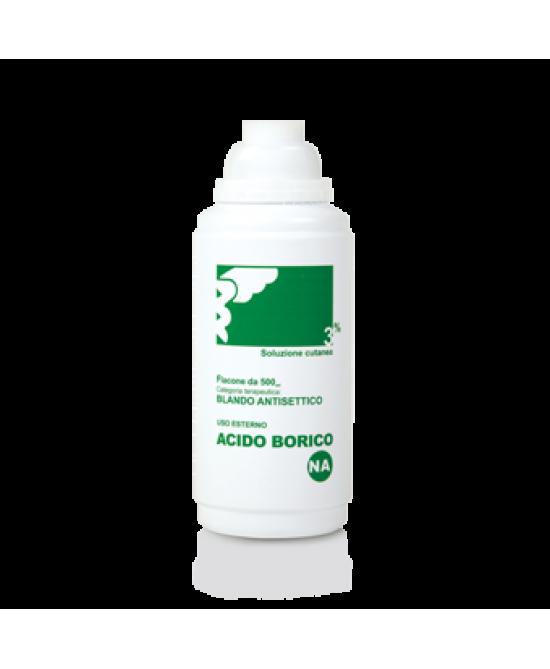 Acido Borico NA 3%  Soluzione Cutanea 500ml - FARMAEMPORIO