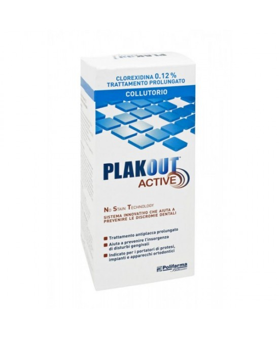 Plakout 0,12% Colluttorio 150ml - Farmawing