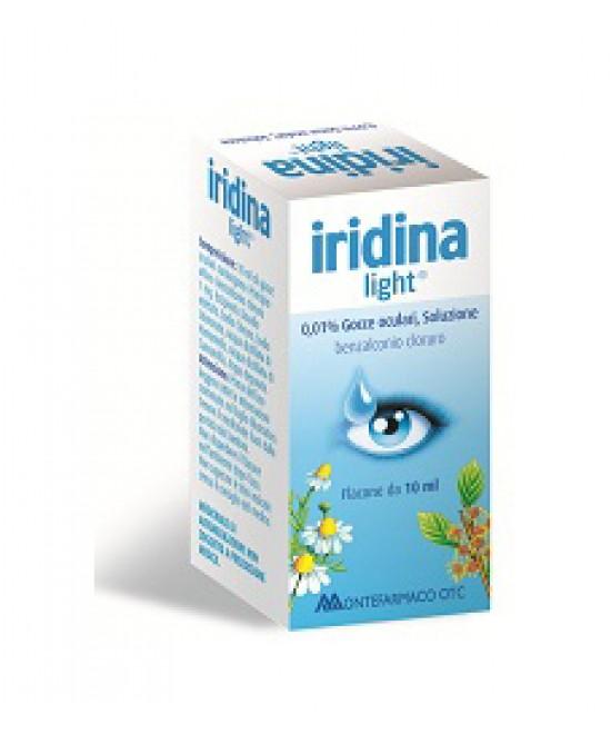 Iridina Light*Gtt 10Ml 0,01% 0,1 Mg/Ml Collirio, Soluzione 1 Flacone 10 Ml - La tua farmacia online