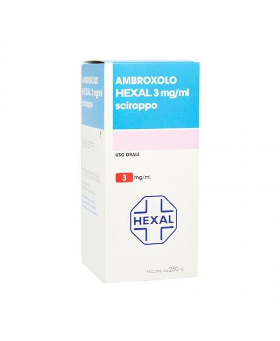 Ambroxolo Hexal 3mg/ml Sciroppo 250ml - FARMAEMPORIO