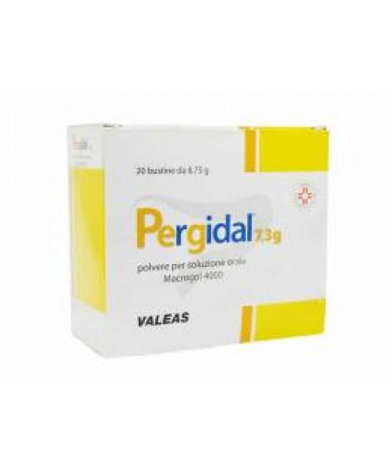 Pergidal 7.3g  Polvere Per Soluzione Orale 20 Bustine - Farmastar.it