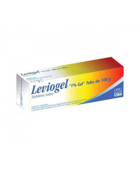 Leviogel 1% Gel Antinfiammatorio Antidolorifico 100g  - La tua farmacia online