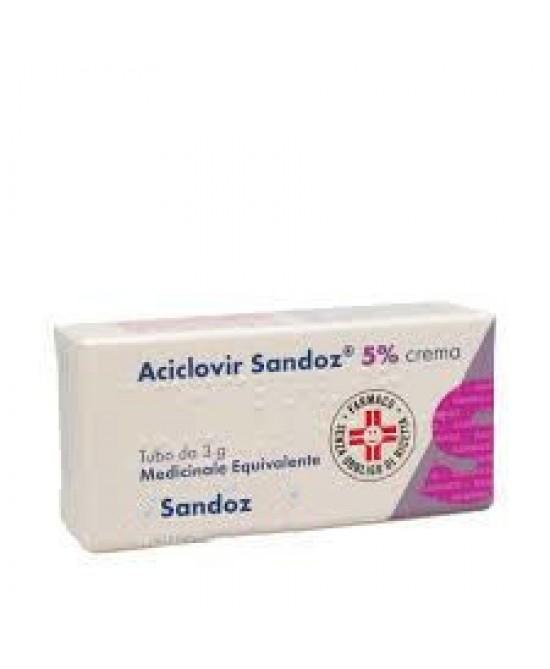 Aciclovir Sandoz 5% Crema 3g - FARMAEMPORIO