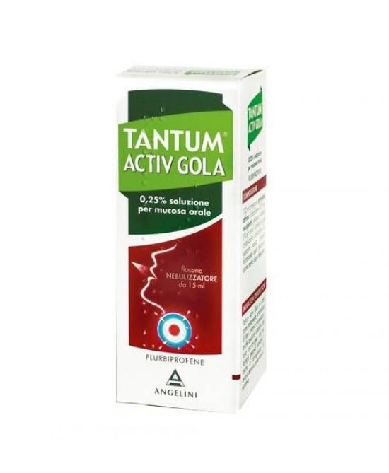 Angelini Tantum Activ Gola Nebulizzatore Per Mal Di Gola Spray 15ml - La tua farmacia online