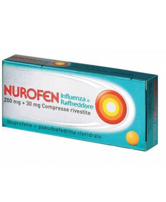 Nurofen 200mg + 30mg  Influenza E Raffreddore 24 Compresse - Zfarmacia