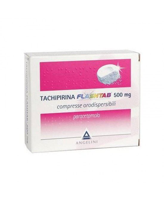 Tachipirina Flashtab 500 mg 16 Compresse - Farmalilla