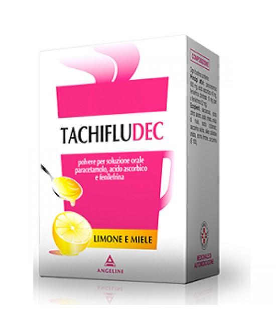 Tachifludec Limone Miele 16 Bustine - Farmacia 33