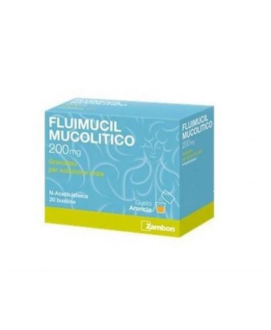 Fluimucil Mucolitico 600mg Sospensine Orale In Polvere 10 Bustine - Farmacia 33