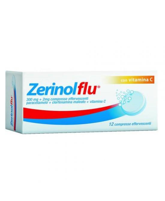 Zerinolflu Dispositivo Medico 20 Compresse Effervescenti - Farmacia 33