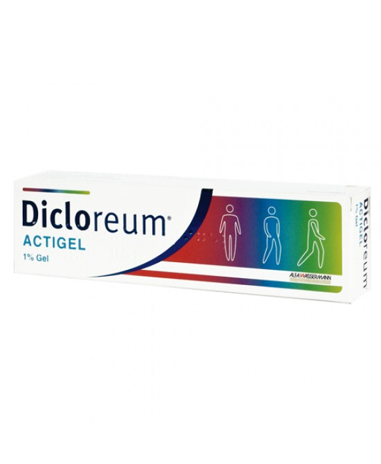 Dicloreum Actigel Gel 50g 1% - Farmawing