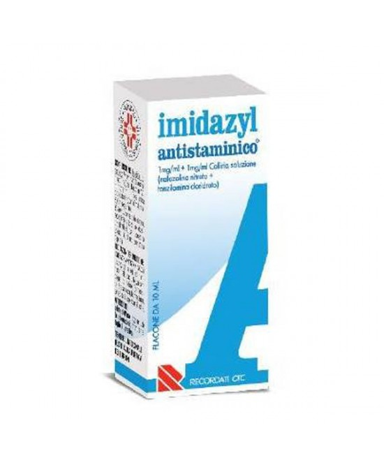 Recordati Imidazyl Antistaminico Collirio Flacone Da 10ml - Farmaciaempatica.it