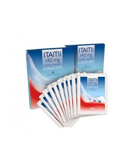 Fidia Itami 5 Cerotti Medicati 140mg - La tua farmacia online
