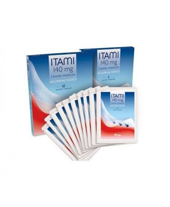Fidia Itami 10 Cerotti Medicati 140mg - La tua farmacia online
