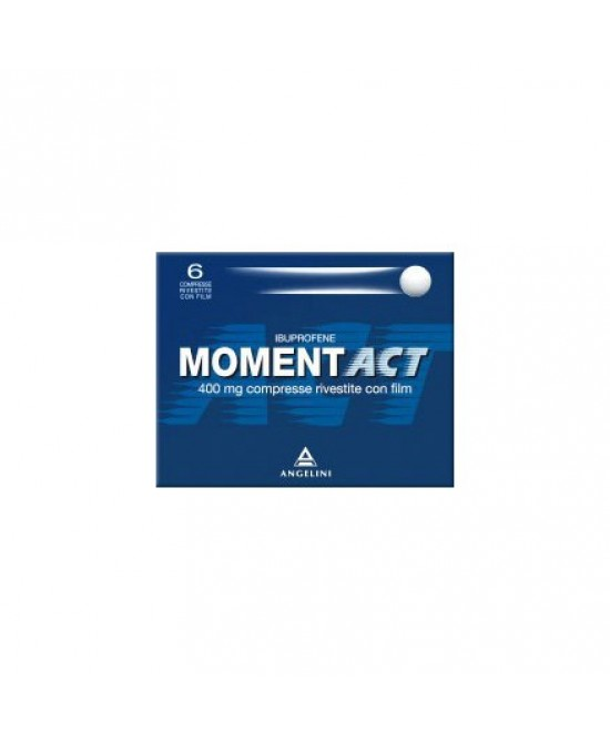 MomentAct 400mg Analgesico-Antinfiammatorio 6 Compresse Rivestite - Farmacia 33