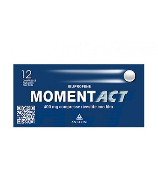 MomentACT 400mg Ibuprofene 12 Compresse Rivestite - Farmacia 33