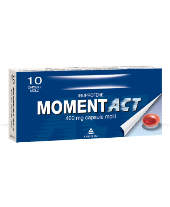 Moment ACT 400 mg 10 Capsule Molli - Farmalilla
