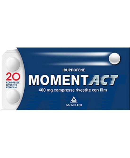 MomentACT 400mg Ibuprofene 20 Compresse Rivestite - La tua farmacia online
