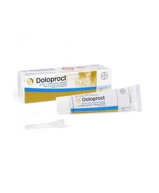 Intendis Doloproct Crema Rettale Patologie Emorroidali Tubo 30g - Farmacia 33