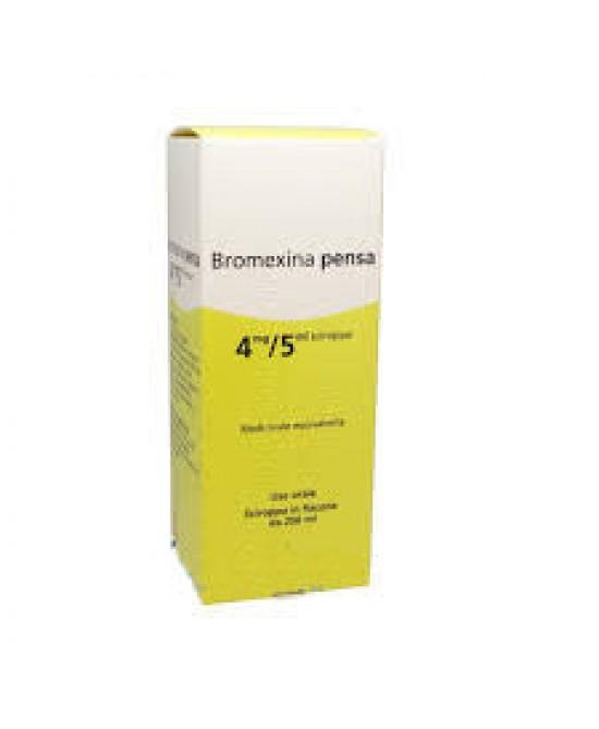 Bromexina Pensa 4mg/5m Sciroppo 250ml - Farmacia 33