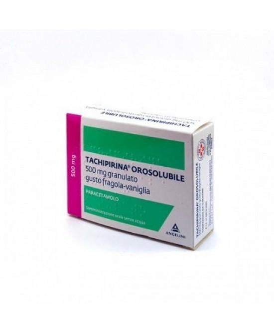 Tachipirina Orosolubile 500mg Granulato 12 Bustine - La tua farmacia online