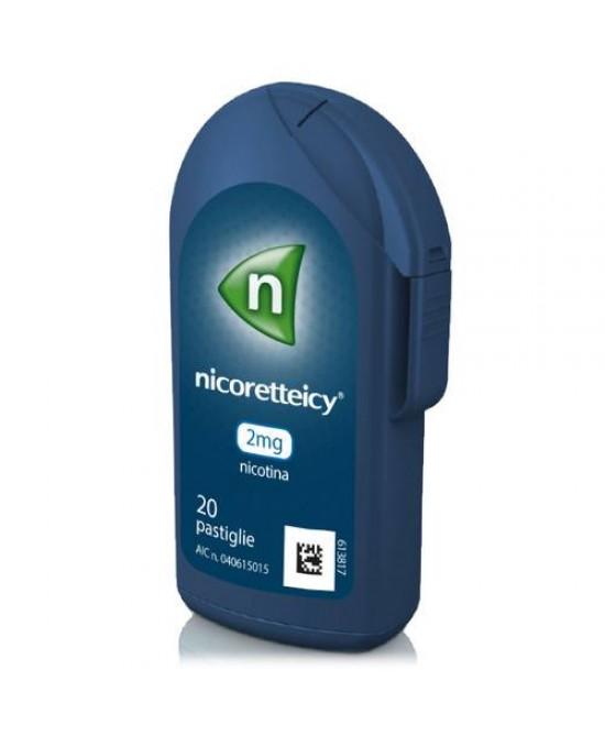 Nicoretteicy 2mg Nicotina 20 Pastiglie - Farmawing