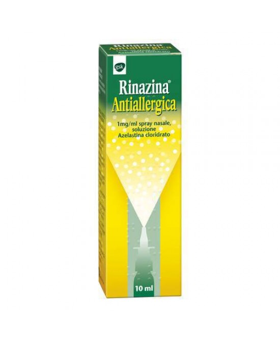 Rinazina Antiallergica Spray Nasale 10ml scad 03/20 - Farmacento