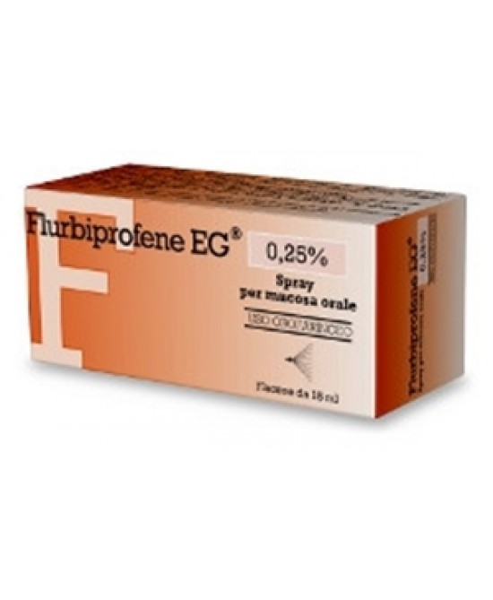 Flurbiprofene EG Epifarma  0,25% Soluzione Spray 15ml - La tua farmacia online