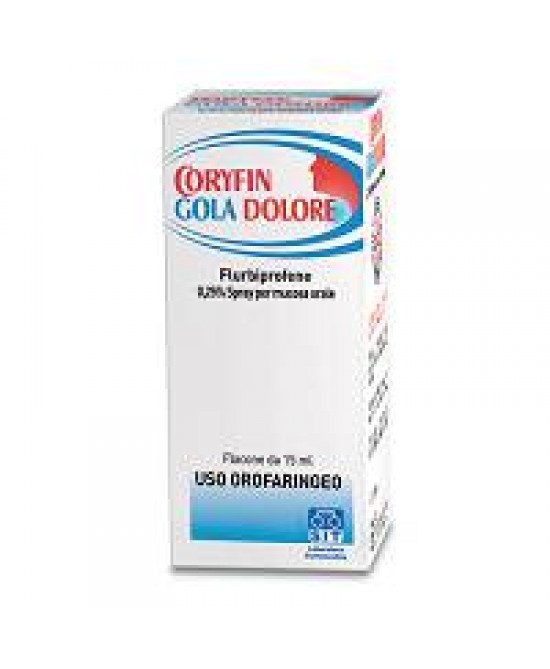 Coryfin Gola Dolore Antinfiammatorio Spray 15ml - La tua farmacia online