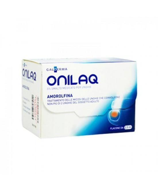 Galderma OnilaQ 5% Smalto Unghie Onicomicosi 2,5ml - Zfarmacia
