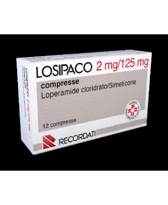 Losipaco 2mg+125mg Dispositivo Medico 12 Compresse - Farmacento