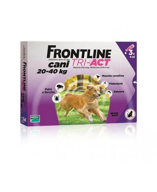 Frontline Tri-Act 3 Fiale Da 4ml - Farmacia 33