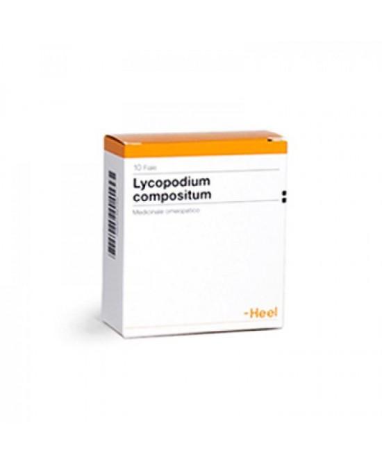 Lycopodium Compositum Heel 10 Fiale da 2,2 ml - Farmalilla