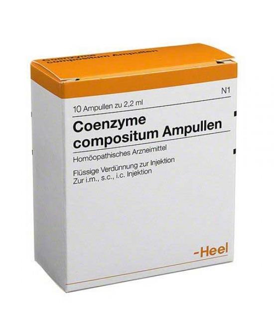 Heel Coenzyme Compositum 10 Fiale Da 2,2ml - Farmawing