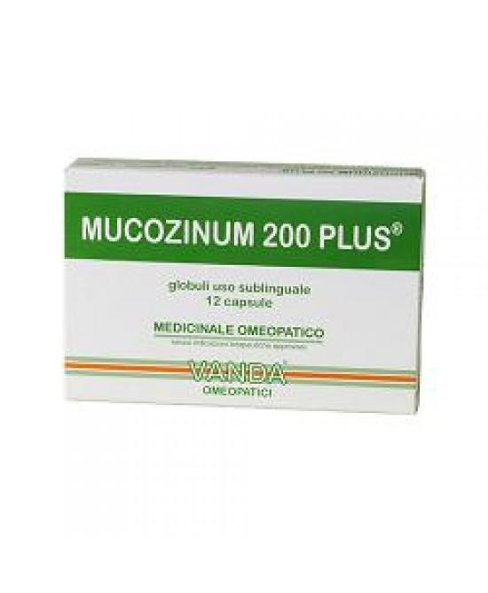 Vanda Mucozinum 200 Plus 12 Compresse - FARMAEMPORIO