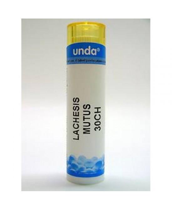 Unda Lachesis Mutus 30ch Globulare 140 Globuli - La tua farmacia online