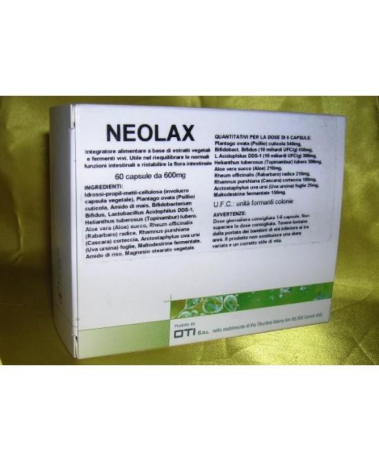 Oti Neolax Integratore Alimentare fermenti vivi 60 Compresse - FARMAEMPORIO