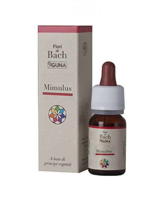 Guna Fiori Di Bach Mimulus Gocce 10ml - Farmacento