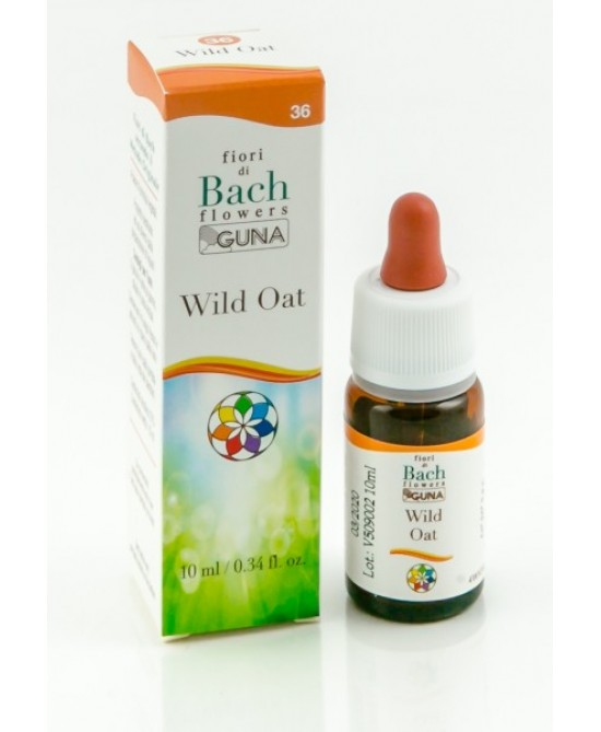 Fiori Di Bach Guna Wild Oat Gocce Senza Glutine 10ml - farma-store.it