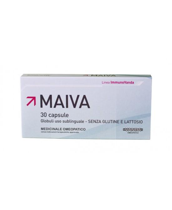 Maiva Medicinale Omeopatico 30 Capsule - Zfarmacia