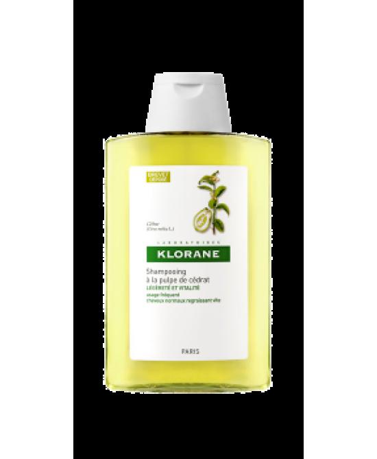 Klorane Shampoo Vitaminizzato Alla Polpa Di Cedro 200ml - Farmamille