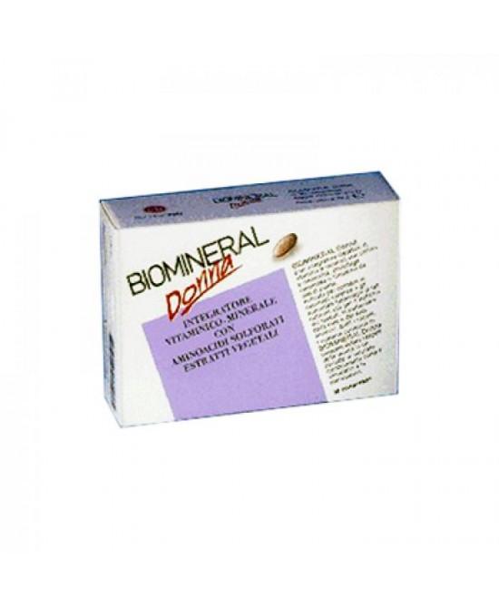 Biomineral Biomineral Donna Integratore Alimentare 30 Compresse - La tua farmacia online