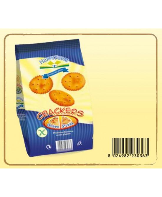 Happy Farm Crackers Gusto Pizza Senza Glutine 60g - Farmacia 33