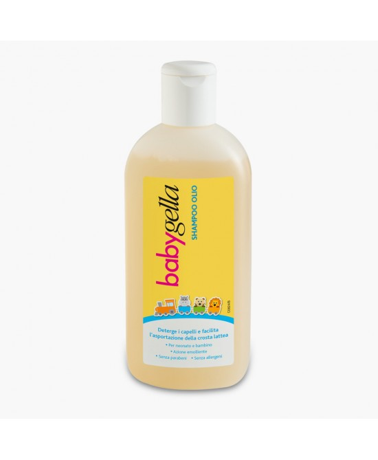 Babygella  Linea Igiene  Shampoo Olio 150ml - FARMAEMPORIO