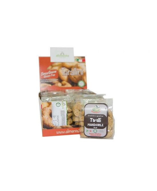Alimenta 2000 Taralli Alle Mandorle Senza Glutine 250gr - FARMAEMPORIO