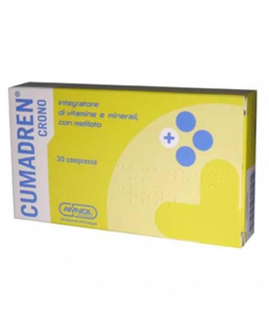 Cumadren Crono 30cpr - Farmacento
