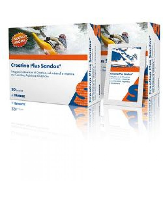 Creatina Plus Sandoz 20 Buste - Farmalilla